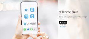 Pixum app fotokalender