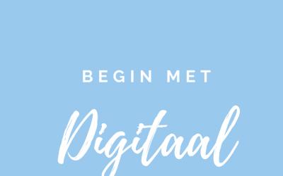 Dag 14. Begin met Digitaal.